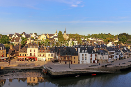 saint goustan at auray in brittany