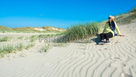 dunes on the north sea