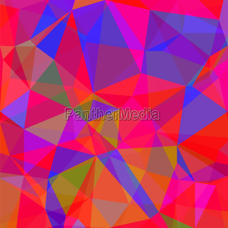 abstract red blue polygonal background