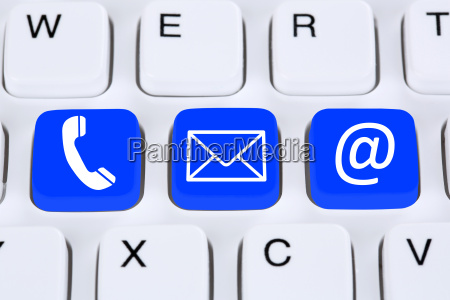 communication contact phone letter or e