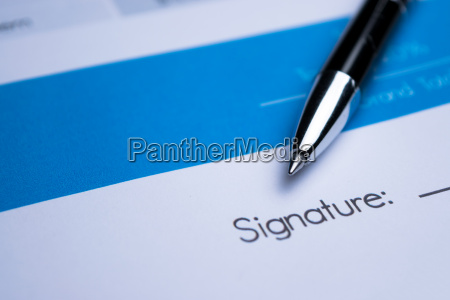 agreement signing a contract