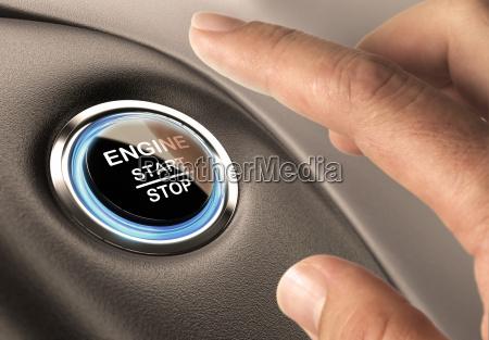 starter button