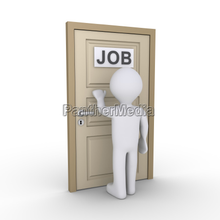 person is in need of job