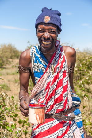 masai mara kenya africa february