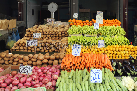 fruits and vegetables
