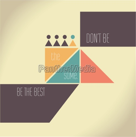 motivation quote dont be the