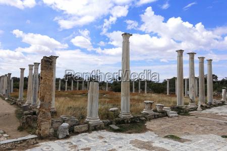 salamis in north cyprus