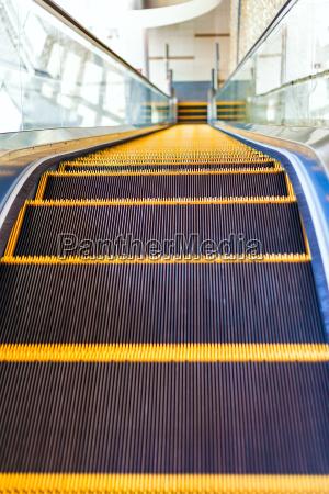 escalator in modern architecture