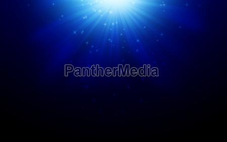 spotlight blue background