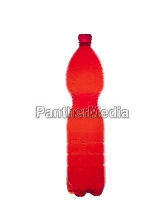 erd plastic bottles isolated on white