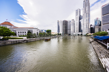 views singapore downtown city state indonesia