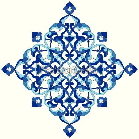 artistic ottoman pattern series ninety nine