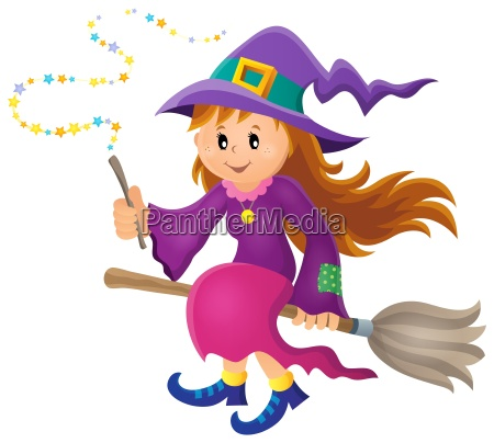 cute witch theme image 1