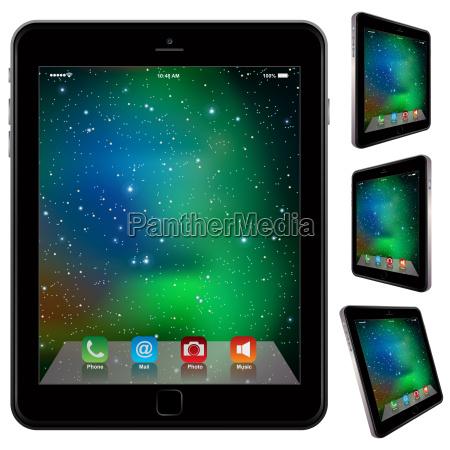 photo realistic tablet similar to ipad