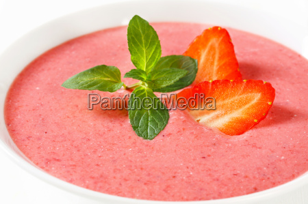 sweet berry soup
