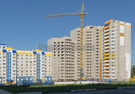 construction of a new high rise