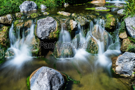 waterfall mountain stream