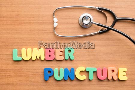 lumbar puncture lp