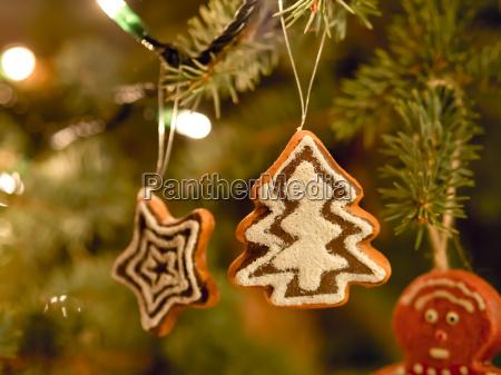 gingerbread tree christmas market