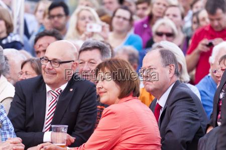 chancellor candidate peer steinbrueck with torsten