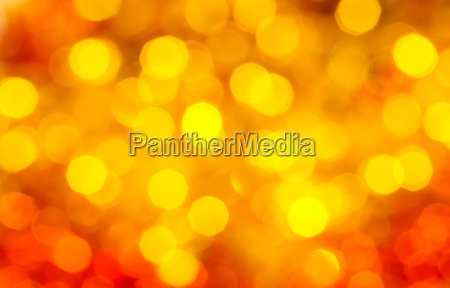 yellow and red blurred shimmering xmas