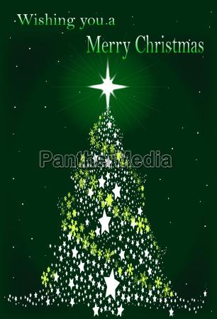 star spangled christmas tree