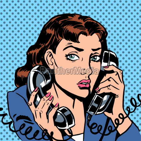 wednesday girl on two phones running