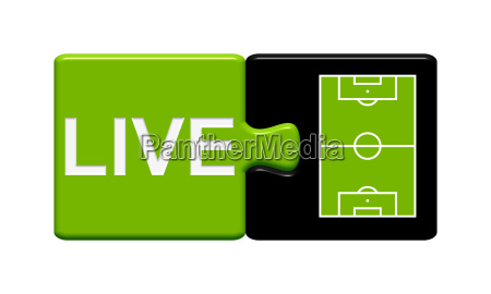 button puzzle football live