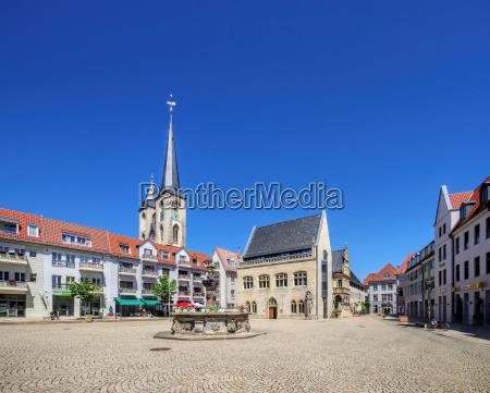 halberstadt markt halberstadt town square