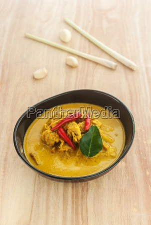 curry pine apple with pork