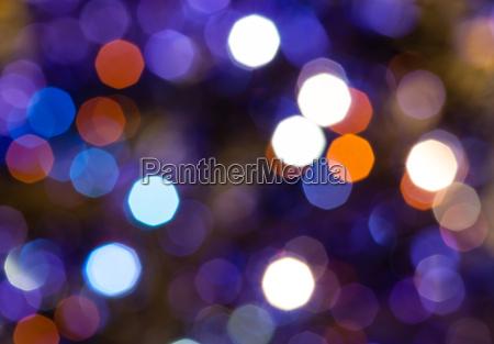 dark blue and violet flickering christmas