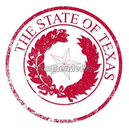 texas state rubber stamp seal