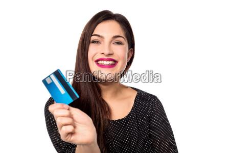 i got my new credit card