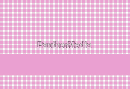 tablecover pattern pink with text stripes
