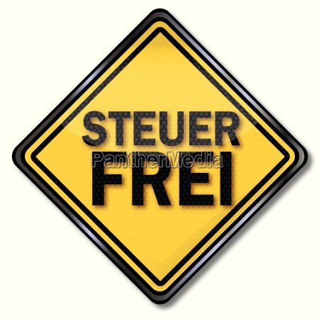 sign tax free