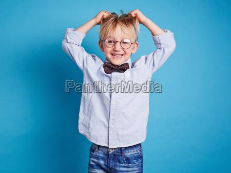 ecstatic child