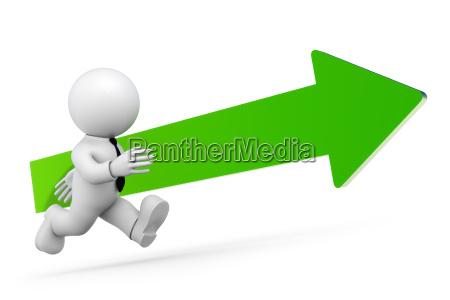 verde pompa apariencia exito flecha hombre