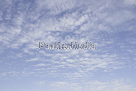 sky and cirrus clouds