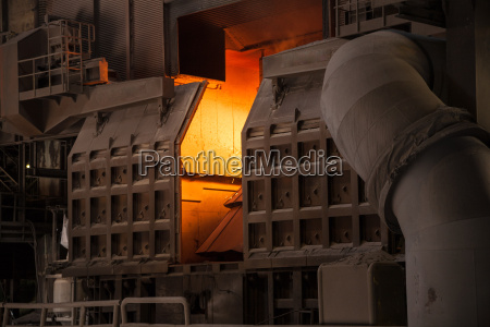 in the steel plant the converter