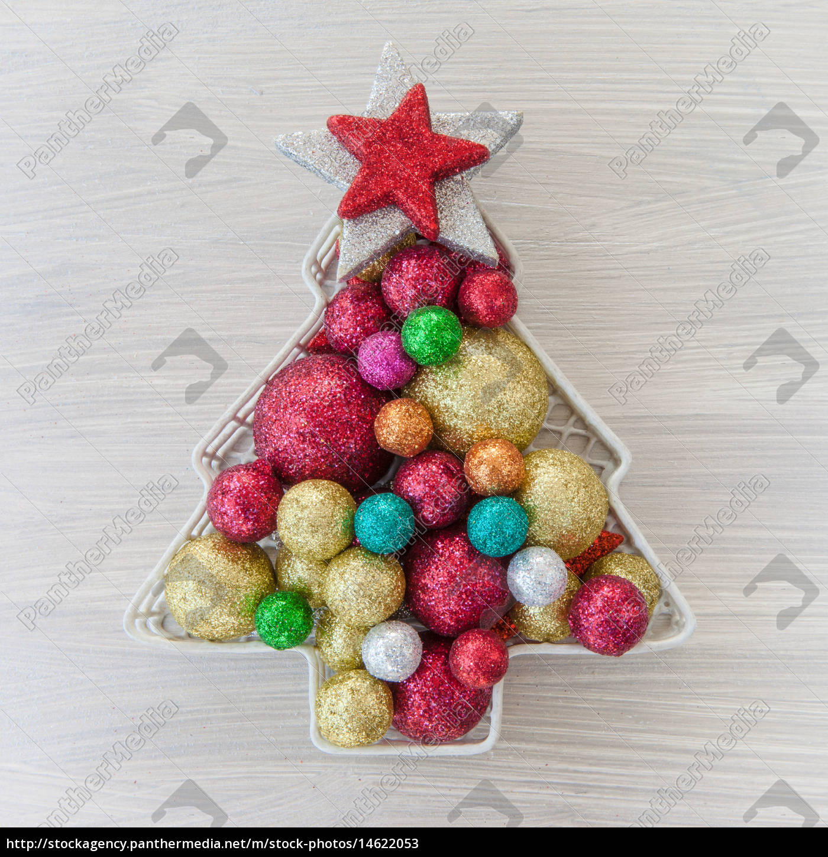 Colorful Christmas Balls.Stock Photo 14622053 Colorful Christmas Decorations