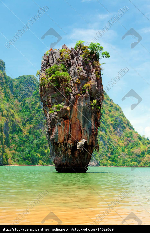 Stock Photo 14629639 James Bond Island Thailand James Bond Island Thailand James