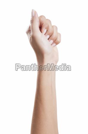 woman, hand, fist - 14632035