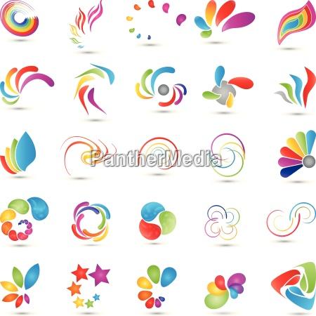 spirals collection logo multimedia