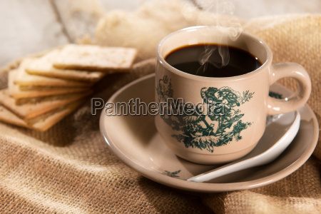 traditional malaysian chinese coffee and soda