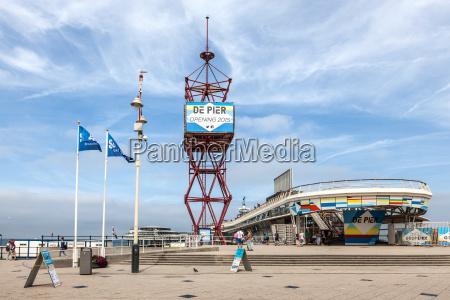 the pier in scheveningen holland