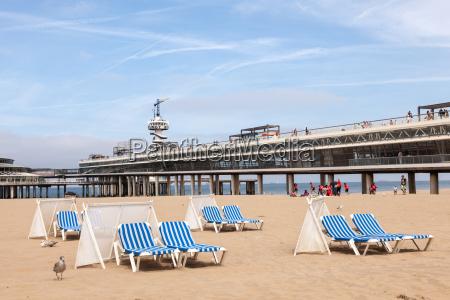 beach in scheveningen holland