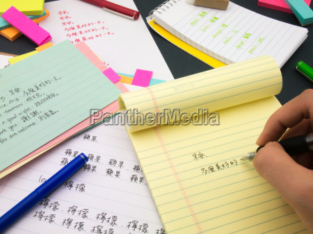 writing new language mandalin