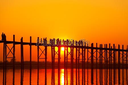 u bein bridge mandalay myanmar u
