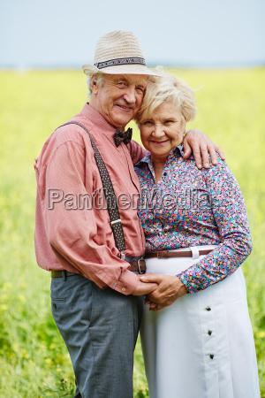 affectionate seniors