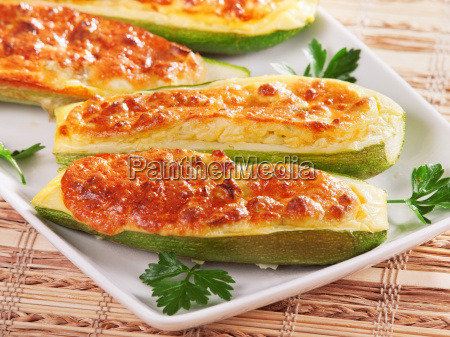 stuffed zucchini with cheese stuffed zucchini